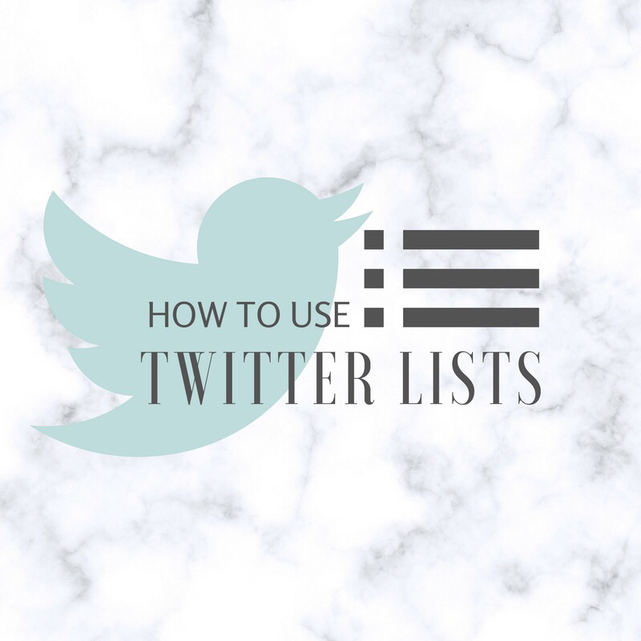 Why Use Twitter Lists